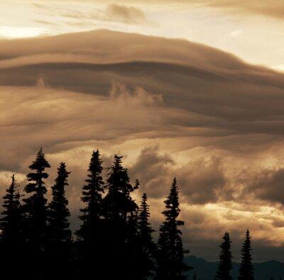 Fototapeta Bouřkové mraky