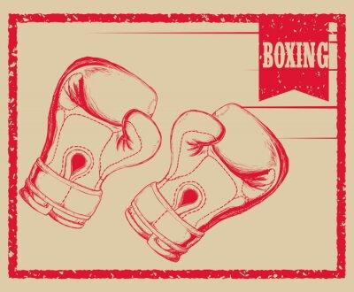 Fototapeta Box sportovní design