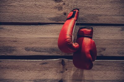 Fototapeta Boxerské rukavice.