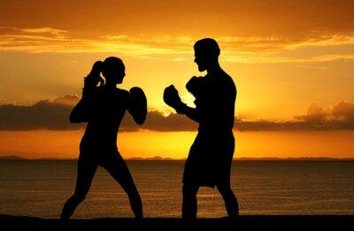 Fototapeta Boxing