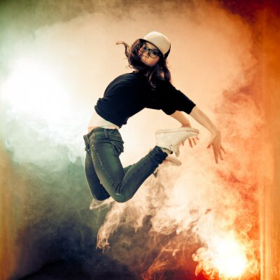 Fototapeta Brake Dancer