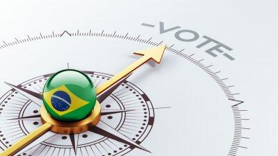 Brazílie Hlasovat Concept