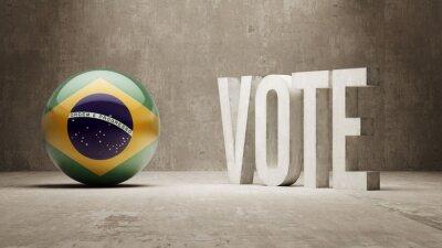 Brazílie. Hlasovat koncept.