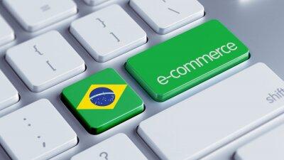 Brazílie koncept e-commerce