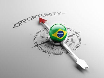 Brazílie příležitost Concept.