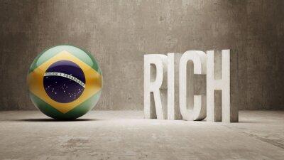 Brazílie. Rich Concept.