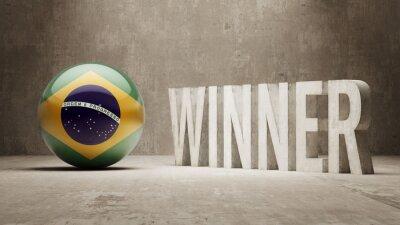 Brazílie. Vítěz Concept.