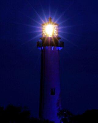 Fototapeta Bright Light / Maják se nachází v Jupiteru na Floridě