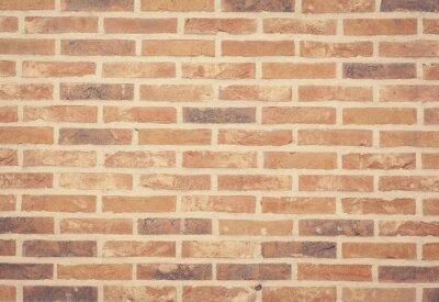 Fototapeta Brown kámen cihlové zdi textury a pozadí bezproblémové.