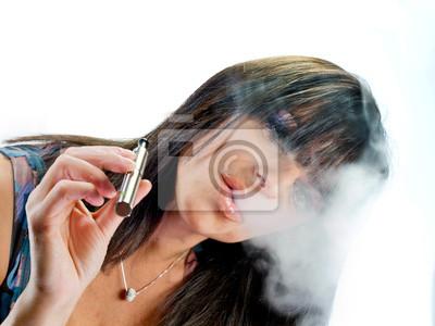 bruneta kouření