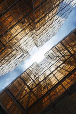 Fototapeta Budovy abstraktní