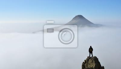 Fototapeta Bulutlar üzerinde hayal