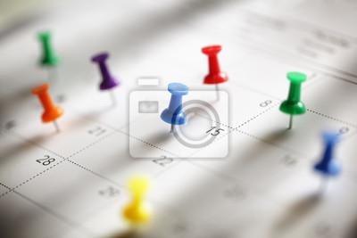 Fototapeta Calendar appointment
