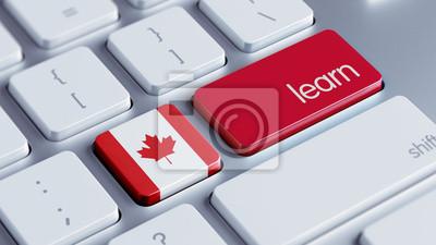 Canada Learn Concept