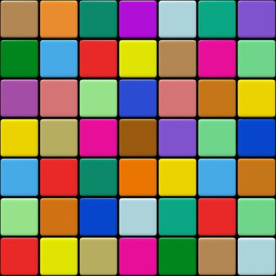Fototapeta Carrelage multicolore 01:03