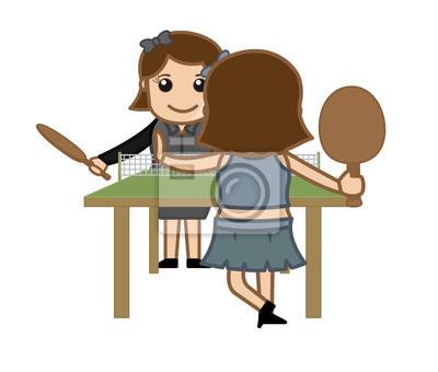 Zápas výroba chlapec a dívka