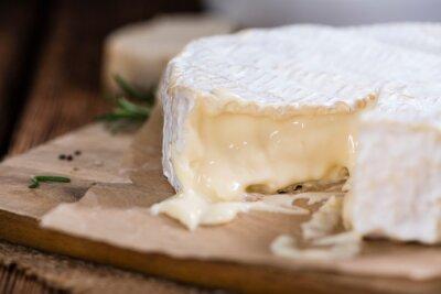 Fototapeta Část krémové Camembert