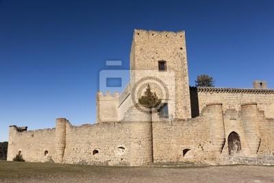 Fototapeta Castillo de Pedraza, Segovia, Castilla y León, España