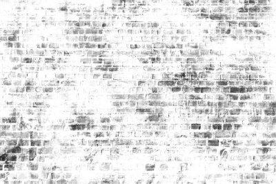 Fototapeta Černá a bílá nástěnná malba umění, inspirativní obrázek na pozadí.