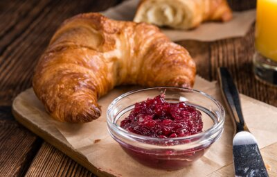 Fototapeta Čerstvé croissanty