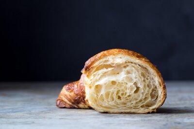 Fototapeta Čerstvě pečené croissanty