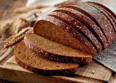 Fototapeta čerstvý žitný chléb