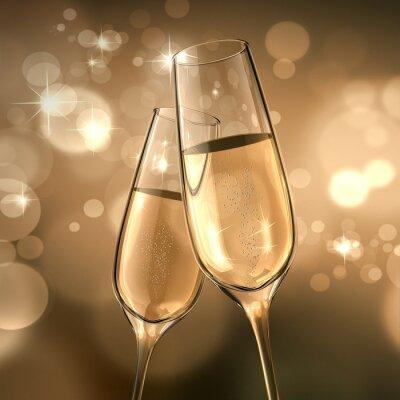 Fototapeta Champagne-Date
