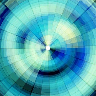 Fototapeta chladné modré digitální pozadí
