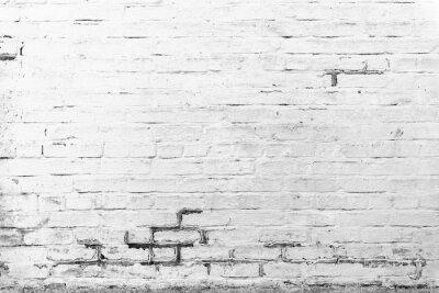 Fototapeta Cihla textura s škrábance a praskliny