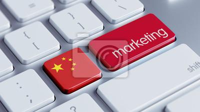Čína Marketing Concept