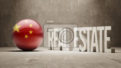 Čína. Real Estate Concept.