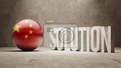 Čína. Solution Concept.