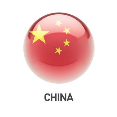 Čína vlajka ikona