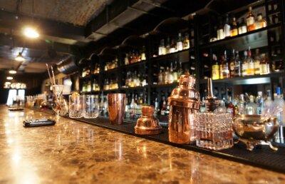 Fototapeta Classic bar counter