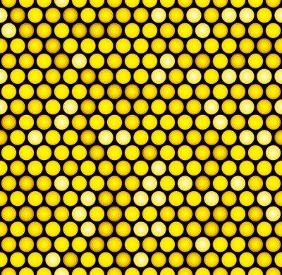 Fototapeta Classic Gold tečkovaná Seamless Glitter vzor. Vektor