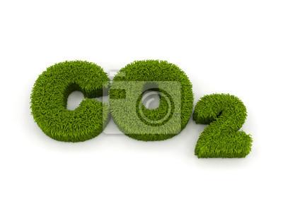 Fototapeta Co2 - Eco CO2 symbol
