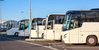Fototapeta Compagnie de autobus