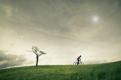 Fototapeta Concept vélo