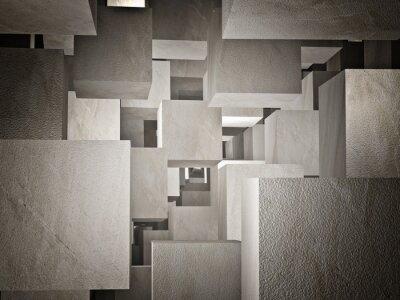 Fototapeta Cubi abstraktní
