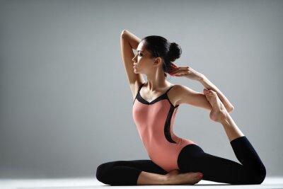 Fototapeta cvičení jógy