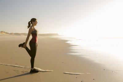 Fototapeta Cvičení na pláži