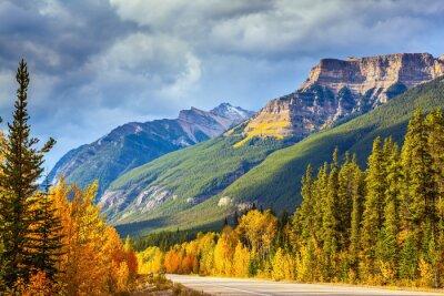 Fototapeta Dálnice v Banff