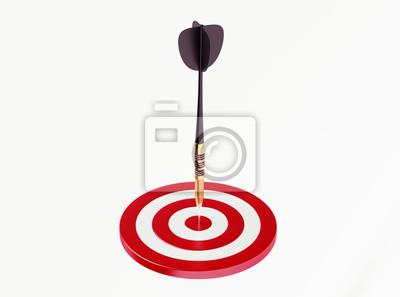 Dart na červené cíl
