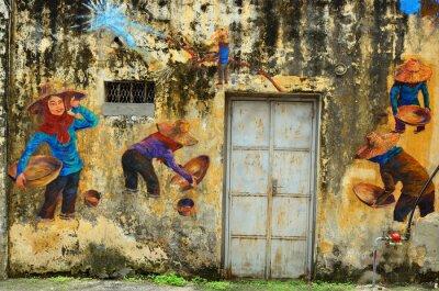Fototapeta Dědictví Ipoh, Malajsie - Ipoh je město v Malajsii, přibližně 200 km severně od Kuala Lumpur ..