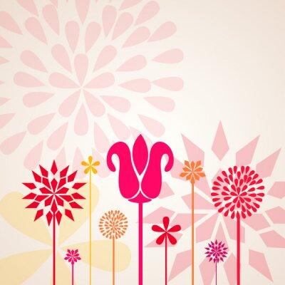 Fototapeta dekorační květiny
