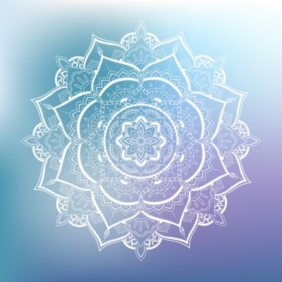 Fototapeta Dekorativní kruh vzor. Mandala