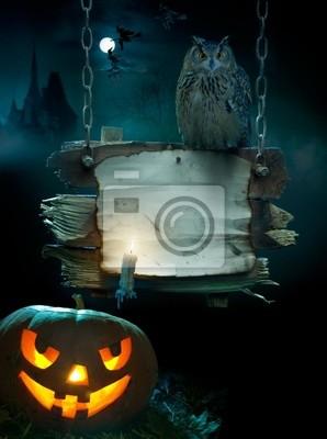 design pozadí pro Halloween party
