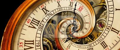Fototapeta detailní, budoucí, široký, koncepce, žlutých, minuta, ukazatel, nemožné, točit, abstraktí, číslo, času, retro, futuristický, textura, surreal, spirála, hodinky, vír, představivost, klasika, nekonečný,