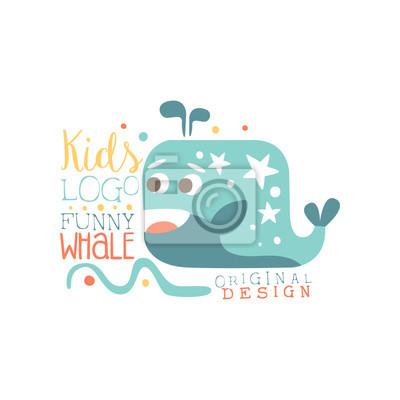 Fototapeta Děti logo originální design 0bb0a3f47a
