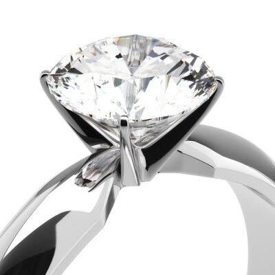Fototapeta Diamantové prsteny